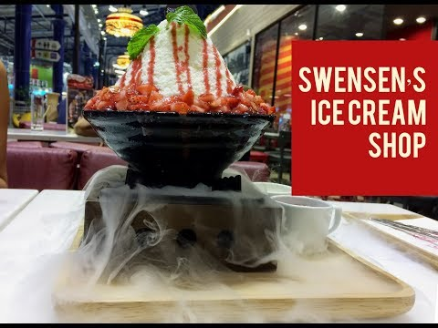 SWENSEN'S ICE CREAM SHOP AT CENTRAL MARINA, PATTAYA