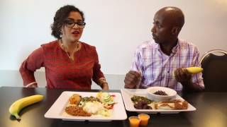 Download Video How to eat: Don't skip the banana with a Somali meal MP3 3GP MP4