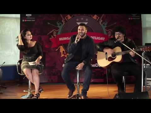 Bollywood Unplugged session Part 3  Ash King, Divya Kumar, Shashwath ,Yashita Sharma  Stephen Frank