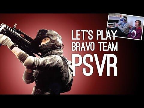 Bravo Team PSVR Gameplay: Let's Play Bravo Team VR With PS4 Aim Controller - SAVE ME, TINMAN!