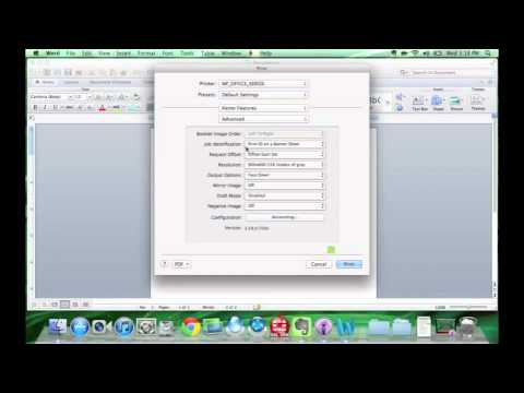 Printers: Installing Xerox Printers on MAC OS X Device - YouTube