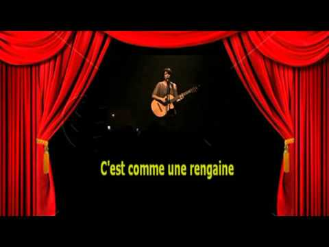 Karaoké Pauline Croze   - T'es beau