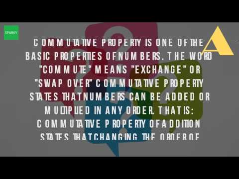 What Is The Definition Of The Commutative Property Of Addition ...