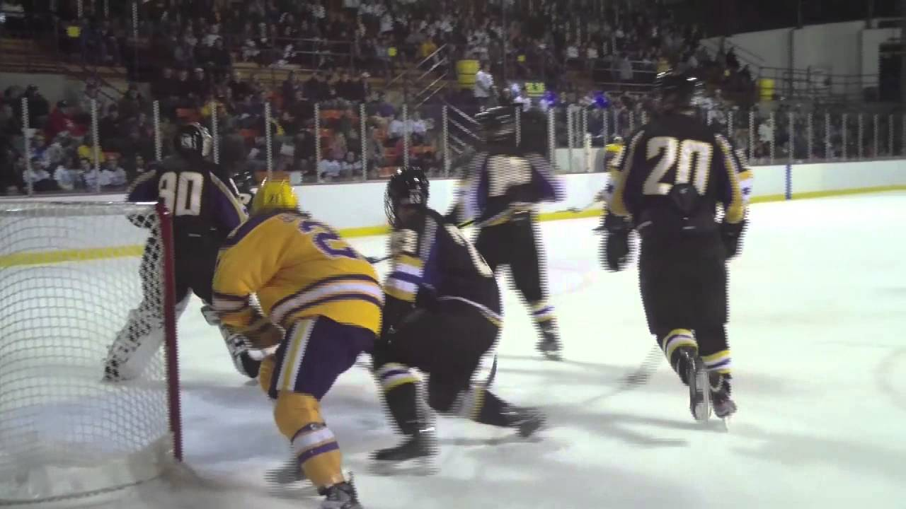 Elmira College Men's Ice Hockey vs. Nazareth - YouTube