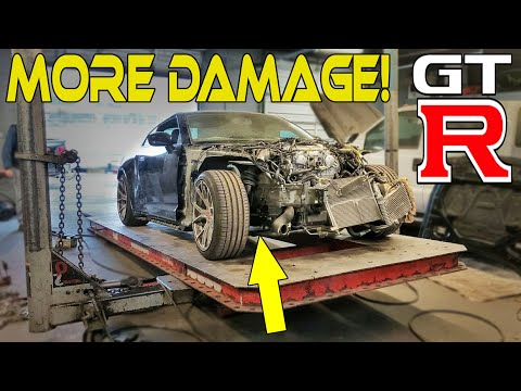 Rebuilding a Wrecked 2010 Nissan GTR (part 5) From Copart Auto Auction