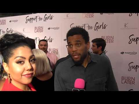 Michael Ealy l Support The Girls Premiere