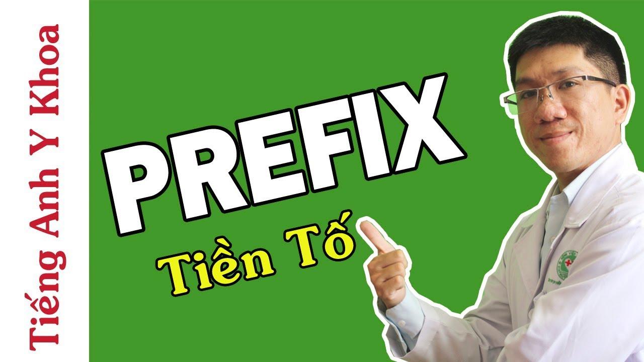 Thuật Ngữ Tiếng Anh Chuyên Ngành Y Khoa – TIỀN TỐ (PREFIX)