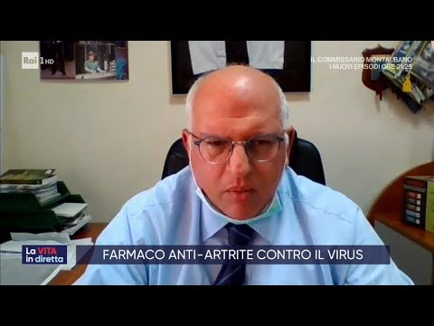 Farmaco anti-artrite contro il virus - La vita in diretta 16/03/2020
