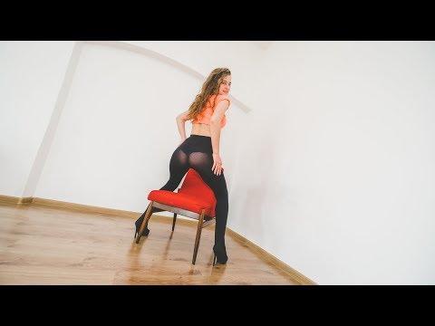 Pantyhose Girl Asia High Heels , 緊身衣