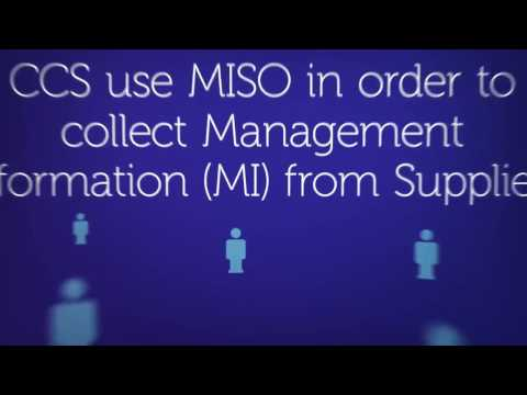 MISO - How to submit an MI return - The Crown Commercial Service