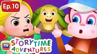 Turtles and Monkeys - Storytime Adventures Ep. 10 - ChuChu TV