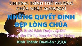 HTTL PHAN THIẾT - Chương trình thờ phượng Chúa - 26/09/2021