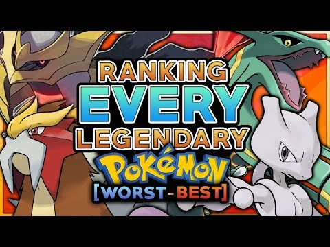 Ranking Every Legendary Pokemon From Worst To Best