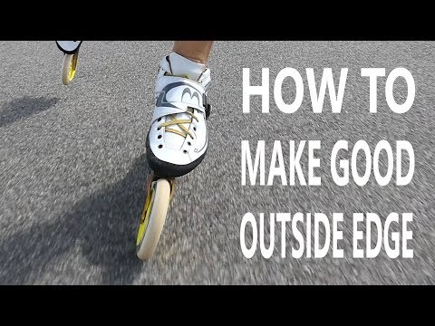 inline skate :How to take good outside edge? (pascal briand vlog 59)