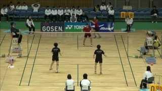 女子ダブルス 準々決勝 BD201503 0036.