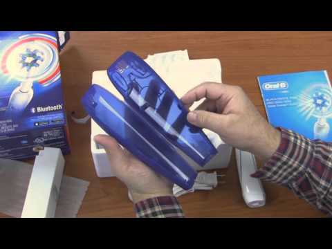 Oral-B Pro 5000 Electric Toothbrush Unboxing