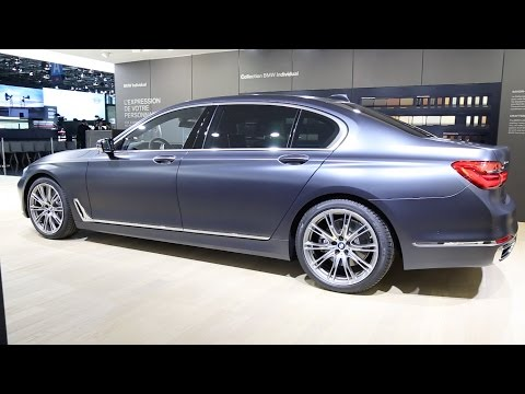 2017 BMW 750Ld - BMW Individual - 7 Series Long Wheelbase