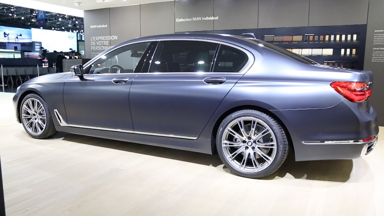 BMW Of Newton >> 2017 BMW 750Ld - BMW Individual - 7 Series Long Wheelbase - YouTube