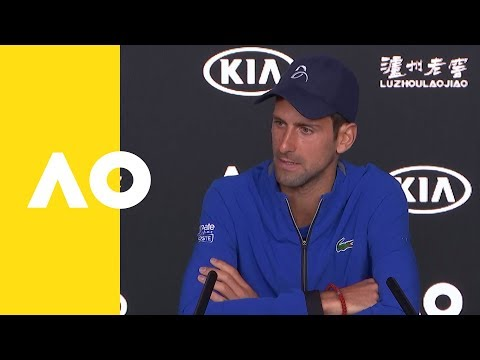 Novak Djokovic press conference (3R) | Australian Open 2019