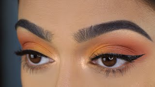 Hey Lovelies, Todays tutorial is a Warm Peachy Eye Look i thought w...