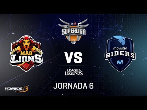 SUPERLIGA ORANGE - MAD LIONS EC VS MOVISTAR RIDERS - Mapa 1 - #SUPERLIGAORANGELOL6