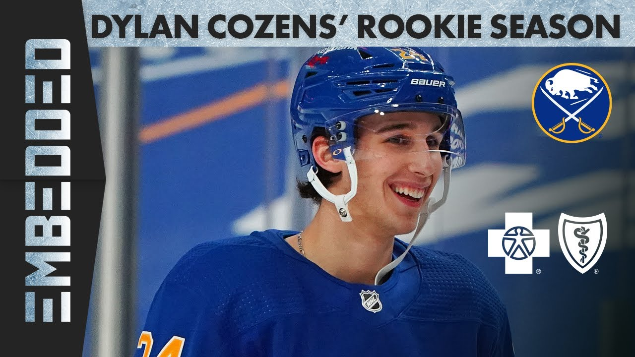 Download Behind-The-Scenes of Dylan Cozens' Rookie NHL Season | Buffalo Sabres: Embedded