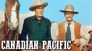Canadian Pacific   COWBOY MOVIE   Classic Western   Free Movie on YouTube   English