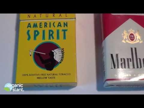 Radiation Monitor Cigarette American Spirit Natural Vs Marlboro 10-23-2013 | Organic Slant