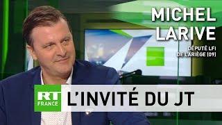 Michel Larive : «L'Europe de la France insoumise c'est l'Europe de la paix, l'Europe des peuples»