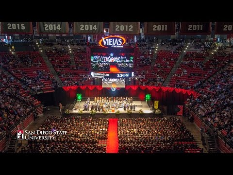 San Diego State University Commencement 2017