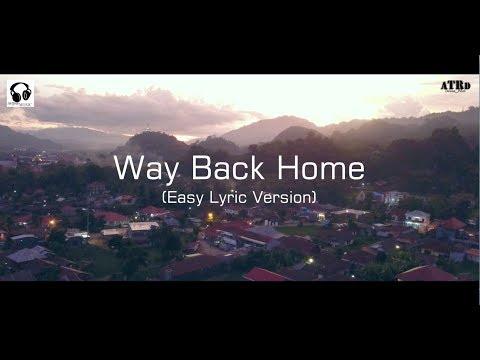 숀 (SHAUN) - Way Back Home (ft. Conor Maynard) Cover by Aldhy Tiranda - EASY Lyric version