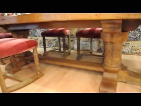 Esszimmer Tisch der Superlative+6 Stühle