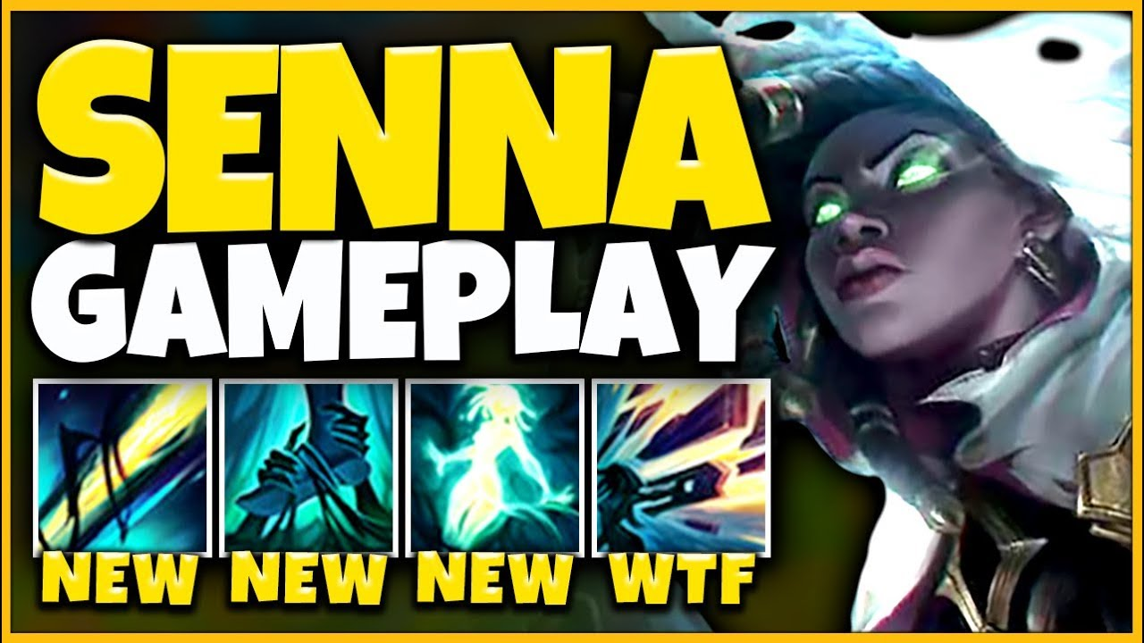 *RIOTS MOST OP CHAMPION* SENNA IS ABSOLUTELY INSANE (GLOBAL SNIPES) - League of Legends