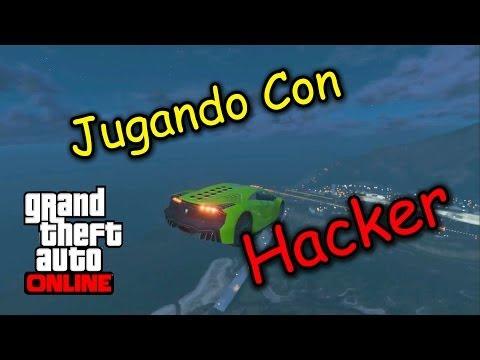 GTA V Online | Jugando Con Hacker | 1.14