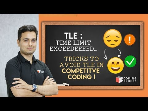Time Limit Exceeded (TLE) - Learn this trick to pass all testcases in Competitive Coding !