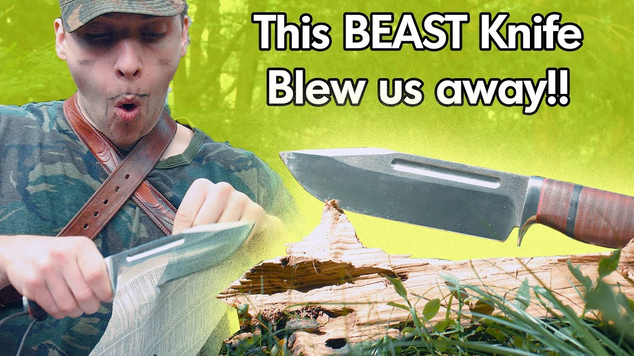 This knife is on STEROIDS! THE BEAST IS HERE! PWCustom TANK