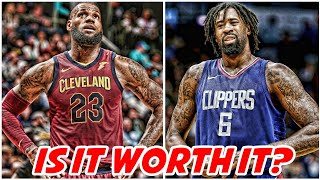 CLIPPERS ARE WILLING TO TRADE DEANDRE JORDAN TO CAVS