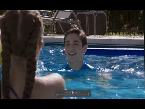 Andi Mack 2x9 - Andi sees Jonah and Natalie Swimming Together - You're the One That I Want