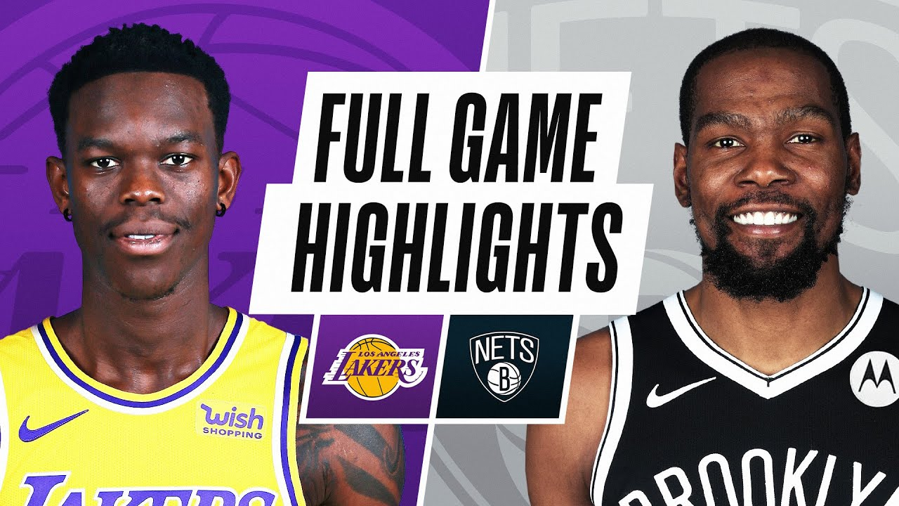 Lakers vs. Nets - Game Recap - April 10, 2021 - ESPN