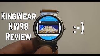 KingWear KW98 Review – cheap Android smartwatch