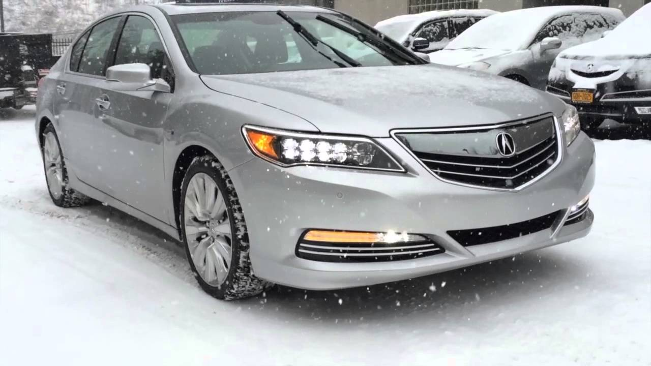 First Look Acura Rlx Sport Hybrid Sh Awd