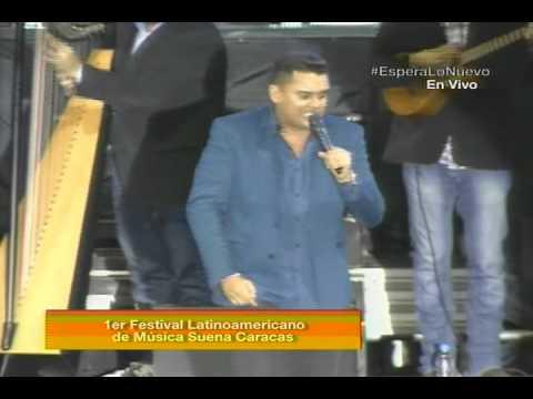 Rey Armas y sus cuatristas en el Festival Musical Suena Caracas 2014
