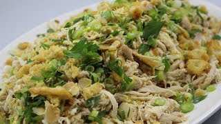 Marinated Chicken Salad Recipe With Toasted Almonds & Spring Onions - Woolworths