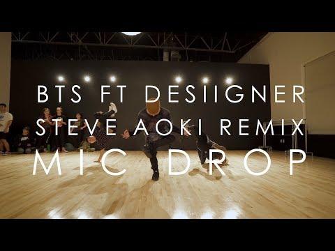 BTS Ft. Desiigner ( Steve Aoki Remix) - Mic Drop | @mikeperezmedia Choreography