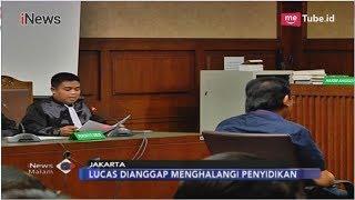 Rintangi Penyidikan, Pengacara Lucas Didakwa Bantu Pelarian Eddy Sindoro - iNews Malam 07/11