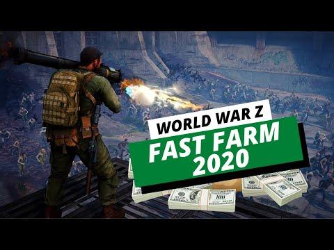 World War Z XP Farm - Fast Way To Level Up, Earn Money & Prestige In 2020