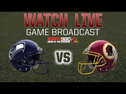 Redskins Radio Booth LIVE Vs. Seahawks