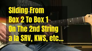 Box 2 To Box 1 Using String 2   Blues Soloing Lesson