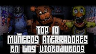 Top 10: Muñecos Aterradores en los Videojuegos | Pepe el Mago