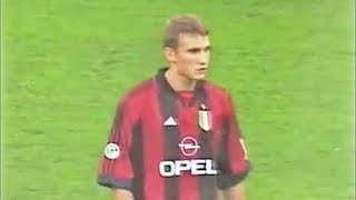 Andriy Shevchenko Debut for Milan vs Parma in Supercoppa